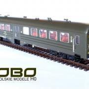 Wagon osobowy 2 kl Ryflak Bh (Robo 102Alka016)