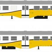 Wagon osobowy 2 kl Ryflak  (Robo 102AKD1)