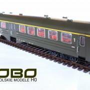 Wagon osobowy 1 kl Ryflak Adfhixt (Robo 102Aawaw255)
