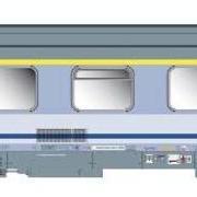 Wagon osobowy 1 kl Intercity Chrobry  (ACME 90033)