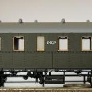 Wagon osobowy 2 kl Bi (Parowozik Brawa 45811 B/25108)