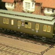 Wagon osobowy 3 kl Cy (Dracula Roco 45763 R/026756)