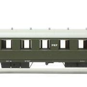 Wagon osobowy 2 kl Bhxz (Parowozik Fleischmann 5632 Fl/20457)