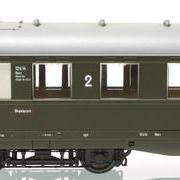 Wagon osobowy 2 kl Bhxz (Parowozik Marklin 43238 M/12214)