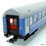 Wagon osobowy kuszetka 2 kl Bcdu (Tillig 500907)
