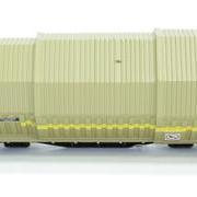 Wagon towarowy z teleskopowymi ścianami Simms (Roco 47437)
