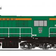 Lokomotywa manewrowa spalinowa SM31 (EFC-Loko SM31027)