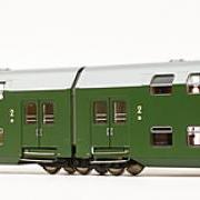 Zespół wagonów piętrowych Bhp (Rivarossi HRS4230)