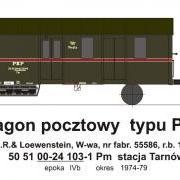 Wagon pocztowy Pm (TMF 561405)