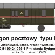 Wagon pocztowy Pm (TMF 561406)
