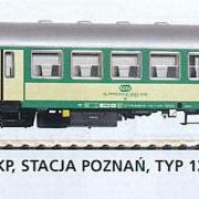 Wagon osobowy 2 kl do ruchu lokalnego Bh (Piko 96642)