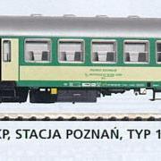 Wagon osobowy 2 kl do ruchu lokalnego B<sup>11</sup>p (Piko 96643)