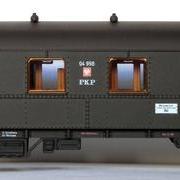 Wagon osobowy 1/2 kl ABhxz (Dracula Roco 45361 R/04998)