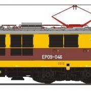 Lokomotywa pospieszna elektryczna EP09 (EFC-Loko EP09046)