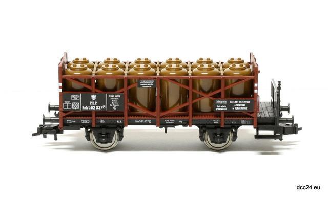 Wagon do przewozu kwasu Rnh (Fleischmann 522004)