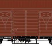 Wagon towarowy kryty .Ggs (Kddet) (Rivarossi HRS6386)