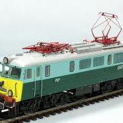 Lokomotywa pasażerska elektryczna EU07 (Schlesienmodelle 107101)