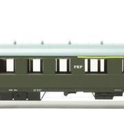 Wagon osobowy 1/2 kl ABhxz (Parowozik Fleischmann 5745 F/12252)