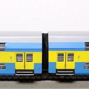 Wagon piętrowy 2 klasy Bhp (Schicht Prefo )