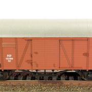 Wagon towarowy kryty Kdt (Klein Modellbahn LM 04/04)