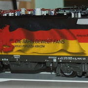 Lokomotywa uniwersalna elektryczna Husarz Euro 2012 Niemcy EU44 (DarekW Roco 62391)
