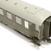 Wagon osobowy 3 kl Chxz (Parowozik Fleischmann 5632 F/020268)