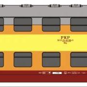 Zespół wagonów piętrowych Bhp (Rivarossi HRS4232)