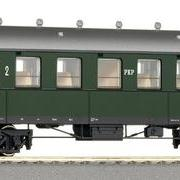 Wagon osobowy 2 kl Bhrx (Roco 45588)
