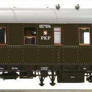 Wagon osobowy 3 kl Ci (Roco 64561)