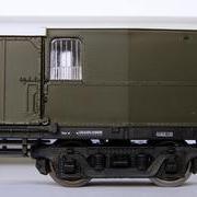 Wagon bagażowy Fhx (Sachsenmodelle 74560)