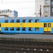 Zespół wagonów piętrowych Bhp (Rivarossi HRS4237)