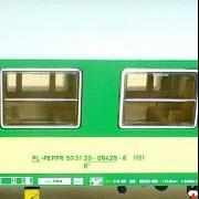 Wagon osobowy 2 kl B<sup>10</sup> (Heris 17025-5)